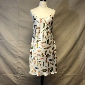 Other - Feathers print nightgown NWOT